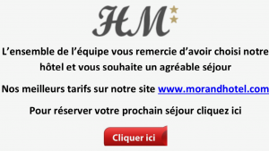 Wifi : Logo Hotel Morand
