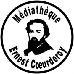 Wifi : Logo Mediathèque Ernest Coeurderoy
