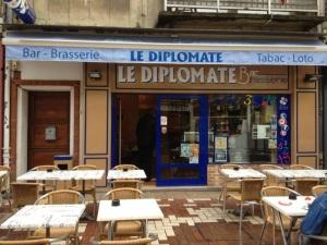 Wifi : Logo Le Diplomate