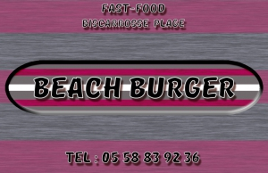 Wifi : Logo Beach Burger