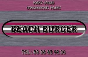 Wifi : Logo Beach Burger