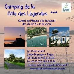 Wifi : Logo Camping de la Côte des Légendes
