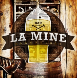 Wifi : Logo Bar la Mine