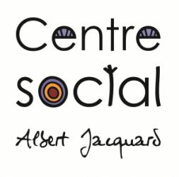 Wifi : Logo Centre Social Albert Jacquard - Lanester