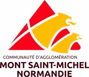 Wifi : Logo Com. d'Agglo. Mont Saint-Michel Normandie - Pole Territorial