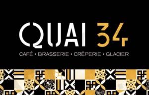 Wifi : Logo Quai 34