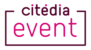 Wifi : Logo Halle de la Courrouze - Citedia Event