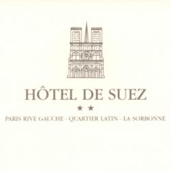 Wifi : Logo Hôtel de Suez