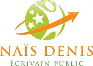 Wifi : Logo Naïs Denis - écrivain Public, Ateliers d'écriture, Livres Gratuits, Aide Aux Devoirs Et Fournitures Scolaires
