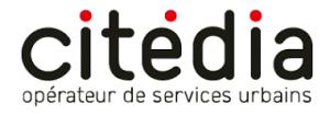 Wifi : Logo Biopôle - Citédia Pépinières