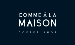 Wifi : Logo Comme A la Maison Coffee Shop