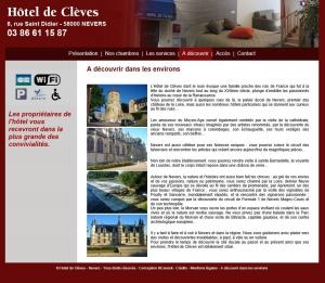 Wifi : Logo Hotel de Cleves