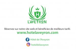 Wifi : Logo Hôtel de l'Aveyron