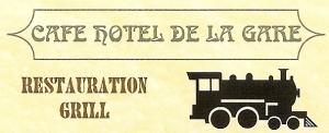 Wifi : Logo Hôtel de la Gare de Champagnole