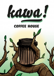 Wifi : Logo Kawa Coffee House