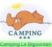 Wifi : Logo Camping Bigourdan