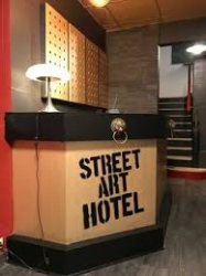 Wifi : Logo Streetart Hotel